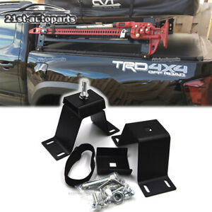 Secure High Lift Jack Rack Mount Kit For Jeep Ford Chevy Toyota Bumper Truck Bed