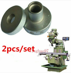 2pcs set Milling Machine Parts Metal Screw Feed Dial Scale Ring For Bridgeport