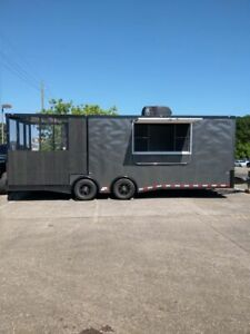 2019 8 5 X 24 Cargo Craft Food Concession Trailer With An 8 Screened Porch Fo