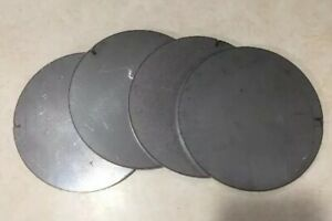 1 4 25 Thick X 6 Diameter Round Steel Plates Circles Target 4 Pieces