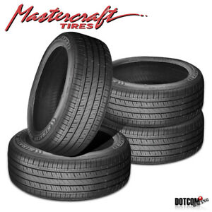 4 X New Mastercraft Stratus As 225 55r18 98h Tires
