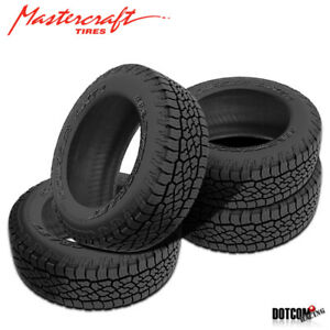 4 X New Mastercraft Courser Axt2 235 75r16 Tires