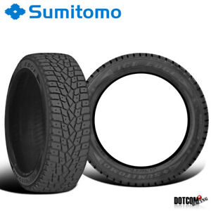 2 X New Sumitomo Ice Edge 225 45r17 94t Xl Tires