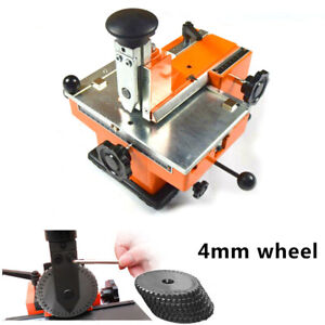 Semi auto Sheet Embosser Stamping Tag Printer 4mm Print Wheel Pressing Stamper