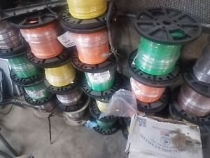 Electrical Wire 10 Gauge And 8 Gauge 480vac Colors