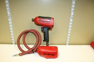 Snap on Tools Super Duty Impact Air Wrench Mg1200 3 4 Drive With Boot