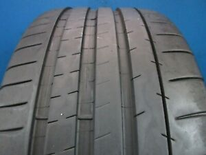 Used Michelin Pilot Super Sport 245 35zr 18 8 9 32 High Tread No Patch 1982d