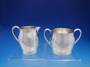 Faneuil By Tiffany Co Sterling Silver Sugar And Creamer Set Mark 260 4479
