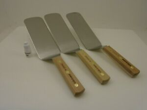 Lot Of 3 High Carbon Dexter 2386c 8 Spatulas Turners 8x3 Blade Pro Factory2nd