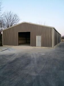 Simpson Steel Building 50x80x16 All Galvalume Garage Storage Shop Metal Building