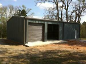 Simpson Steel Building 30x50 Garage Storage Kit Shop Metal Building