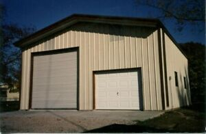 Steel Building 40x40x16 Simpson Metal Building Kit Garage Workshop Barn Storage