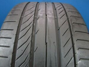 Used Continental Contisportcontact 5p 265 35zr 20 7 32 Tread No Patch 1303f