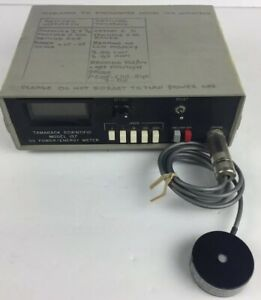 Tamarack Scientific Model 157 Uv Power Energy Meter Battery Operated