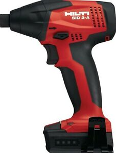 New Hilti Sid 2 a cordless Drill Impact Drive 12v 1 4 With Free Battery