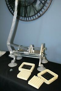 Commercial Heavy Duty French Fry Cutter With 3 8 And 1 2 Inch Cutting Frame