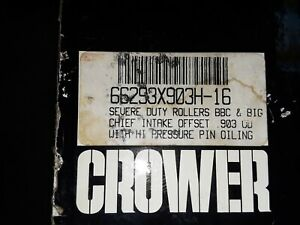 16 Crower Oversized 903 Bbc Solid Roller Lifters Used Great Shape Used