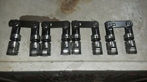 8 Sbc Solid Roller Lifters Offset Pushrod Used Excellent Shape