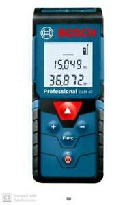 Bosch Glm 40 Digital Measuring Unit Non magnetic Engineer s Precision Level 10