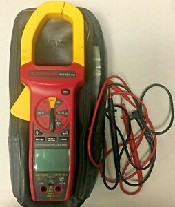 Amprobe Acd 3300 Ind Digital Clamp Meter 1000a 750v trms With Case