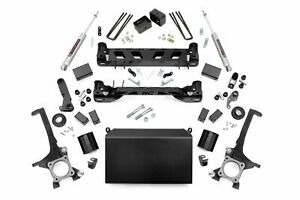 Rough Country 6 Lift Kit Fits 2007 2015 Toyota Tundra N3 Shocks Knuckles
