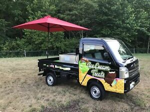 2017 Suzuki Mini Pick up Ice Cream Truck Mobile Ice Cream Business For Sale In