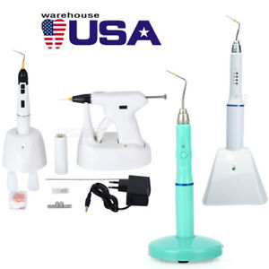 Wireless Dental Endo Gun Heated Pen Obturation System Percha Gutta Tips Us