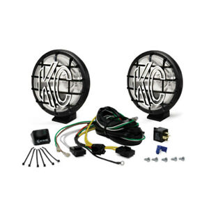 Kc Hilites 9150 Auxiliary Lights Apollo Pro Halogen 6 In Round Set Of Two