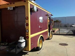 Ready To Roll Chevrolet Kitchen On Wheels Used Food Truck In Great Condition F