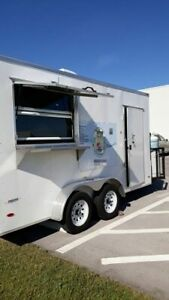 New 2019 7 X 14 Freedom Food Concession Trailer Mobile Kitchen Unit For Sale