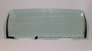 1992 1996 Ford Bronco Rear Back Glass Tailgate Window Heated Brand New