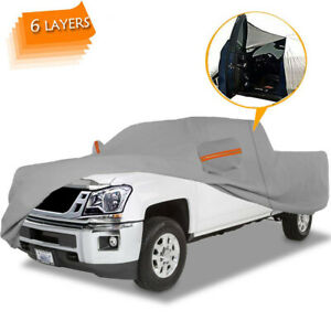 6layer Truck Cover All Weather Protecter Waterproof For Chevy Colorado 2012 2019