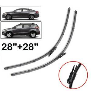 Xukey Front Windshield Wiper Blades Set For Ford Escape Mk3 Fusion Mk2 28 28