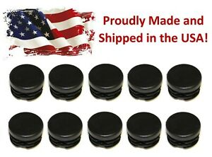 10 1 Round Tubing Plastic Hole Plug End Cap 1 Inch Od Tube Pipe Cover