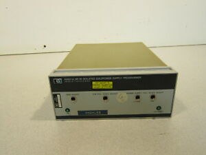 Hp Agilent 59501a Hp ib D a Power Supply Programmer 48 63 Hz