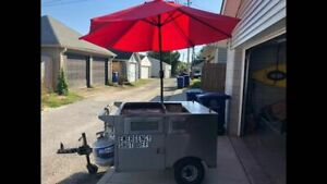 Used Street Food Vending Cart Hot Dog Cart In Marvelous Shape For Sale In Ohio