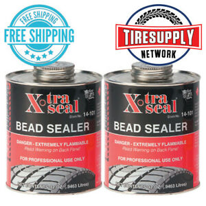 2x Cans 14 101 Xtra Seal Bead Sealer 32oz 14 101 Tire Sealer 12 50 Per Can