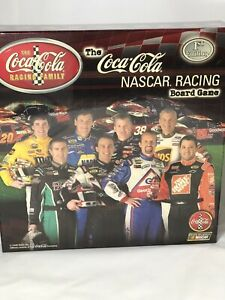 2005 Coca Cola Nascar Racing 1st Edition Collectors Board Game New Chase For Cup