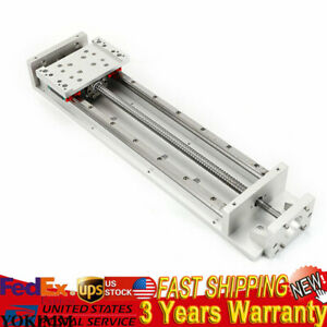 Electric Linear Sliding Table 400mm Stroke X Y Z Axis Sfu1605 Ballscrew Us New