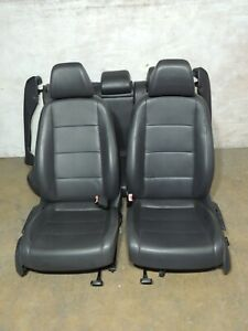 2009 Mk5 Vw Jetta Leather Seats Heated Front Rear Bench Set Factory Oem 921
