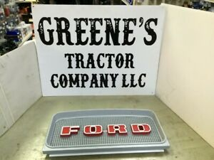 Ford Upper Grill Insert Plastic Has Fixed Ford Letters C9nn8a163ag