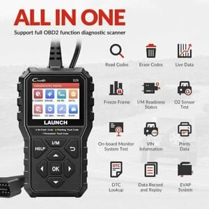 2020 Newest Launch Cr529 Obd2 Code Reader Automotive Diy Scanner Diagnostic Tool