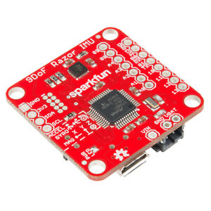 Sparkfun 9dof Razor Imu M0 Mpu 9250 9dof 9 Degrees Of Freedom