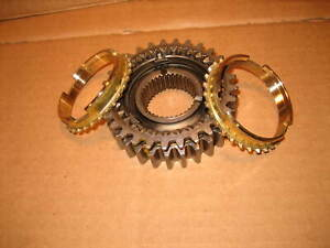 1 2 Synchro Assembly Fits Saginaw 4 Speed Awt302 80a Nice Used W New Synchros