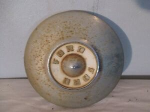Vintage Oem Ford 1956 Dog Dish Poverty Hubcap Original Condition 10 1 2 Inch