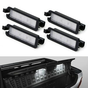 4pcs Led Rambox Interior Light Replacement For 19 Dodge Ram 1500 20 2500 3500
