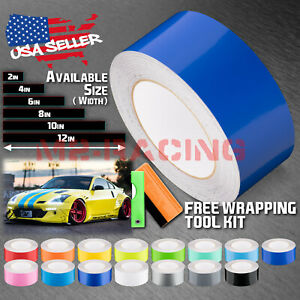 Gloss Color Racing Stripes Vinyl Wrap Decal Nissan 350z Stripe 10ft 20ft