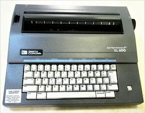 Smith Corona Sl600 Electric Typewriter With Case