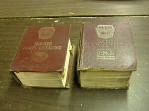 Original Ford 1964 1972 Truck Master Parts Books 1965 1966 1967 1968 1969 Nos