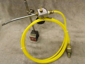 Amflo 270 Coolant Spray Mist Unit Starrett 657 Magnetic Base Milling Machine 4